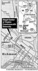 Siegel Center, VA