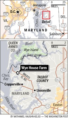Wye House Farm, Maryland