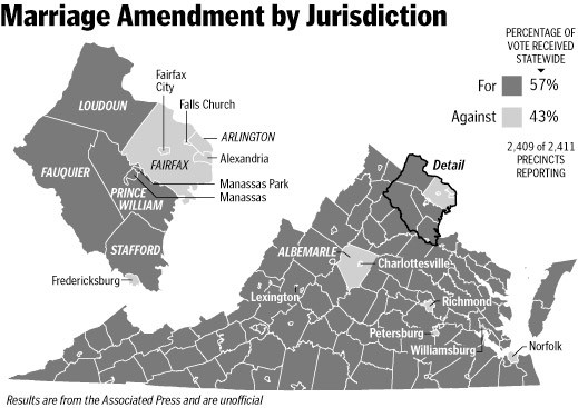Marriage Amendment by Jurisdiction