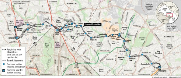 Metrorail Purple Line (Planned)