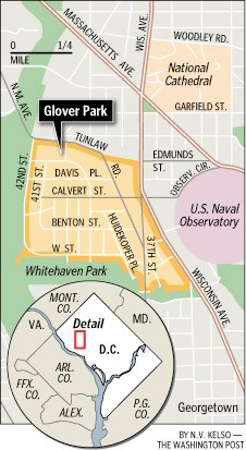 Where we Live – glover Park, DC