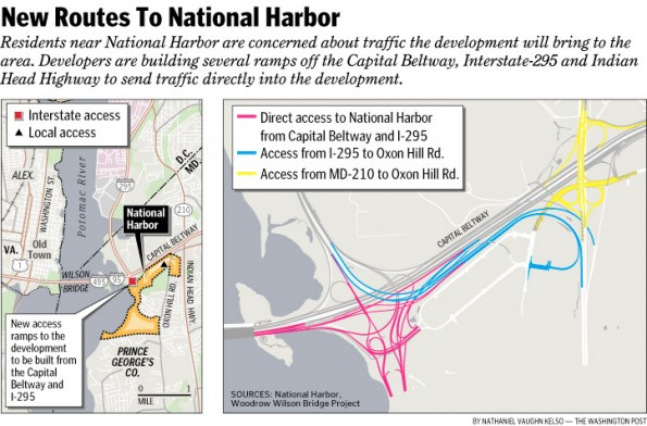New Routes to National Harbor