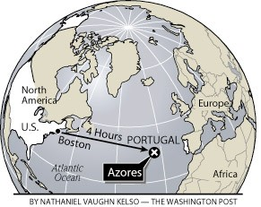 Azores Travel map