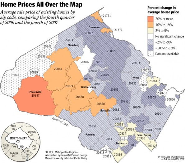 Home Prices All Over the Map