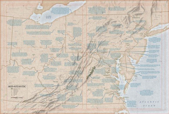 Mid-Atlantic, US Historical Atlas