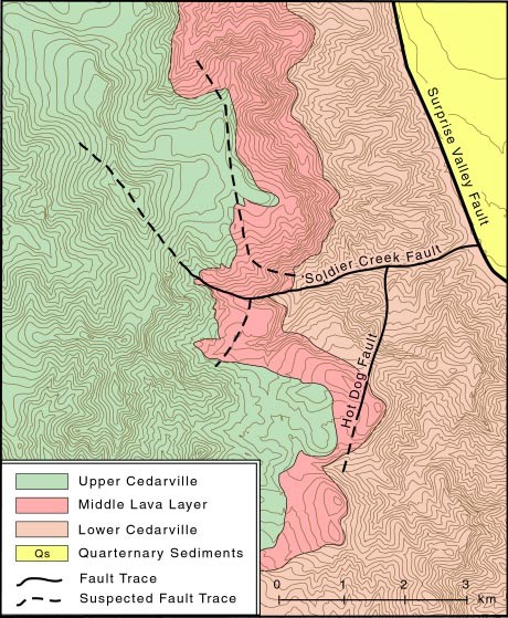 Geology Site Map