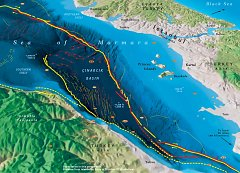 Sea of Maramara Seismic Map
